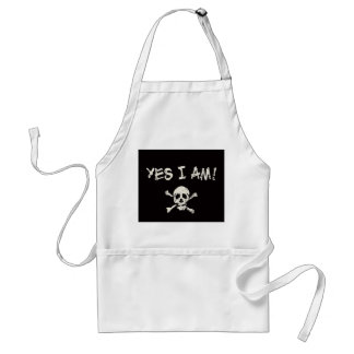 Yes I Am A Pirate Apron