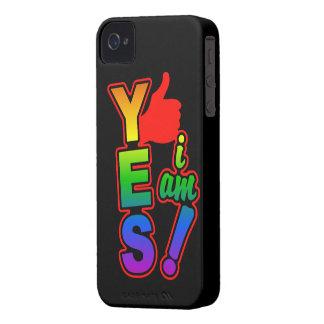 YES I AM Blackberry Bold case