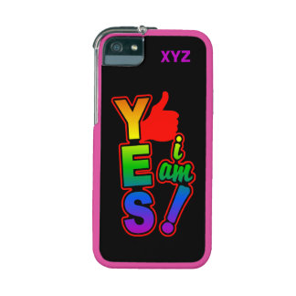 """""""YES I am!"""" custom cases iPhone 5/5S Covers"""