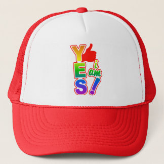 YES I AM hat - choose color