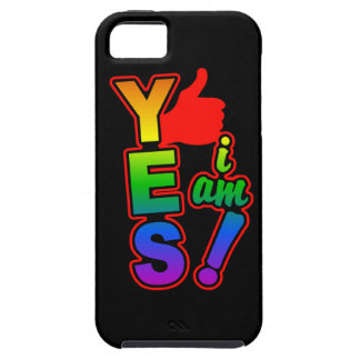 YES I AM iPhone 5 Case-Mate iPhone 5 Cover