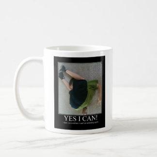 Yes I Can Mugs