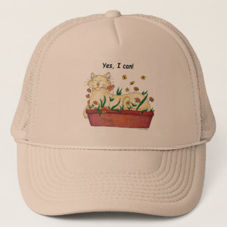 Yes, I can! Trucker Hat