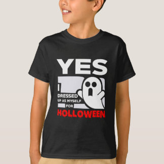 YES I Dressed Up Ace Myself For Halloween T-Shirt
