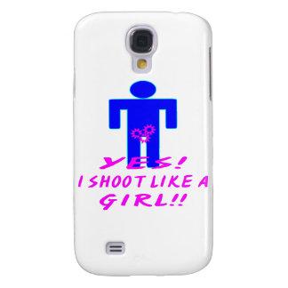 Yes, I Shoot Like A Girl (Crotch Shot)