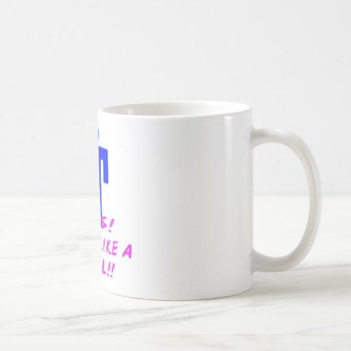 Yes, I Shoot Like A Girl (Crotch Shot) Coffee Mugs