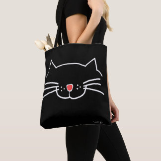 Yes, I'm a cat person - Love Cats Tote Bag