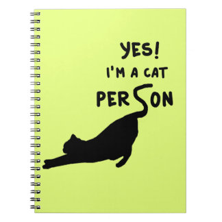 Yes! Im a cat person Notebook