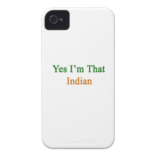 Yes I'm That Indian iPhone 4 Covers
