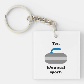 Yes, it's a real sport keychain