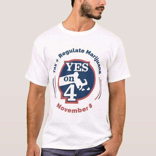 Yes on 4 Men's T-Shirt