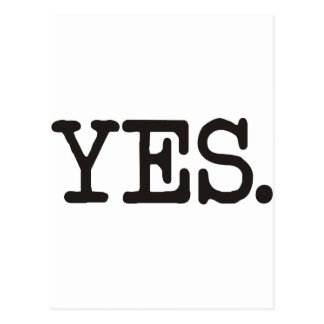 YES Products & Designs! Postcard