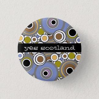 Yes Scotland Scottish Independence Button Badge