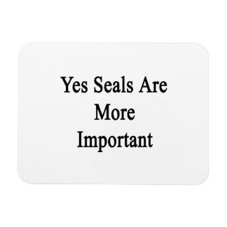 Yes Seals Are More Important Flexible Magnets
