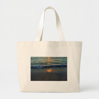 Yes, the Ocean Knows Large Tote Bag