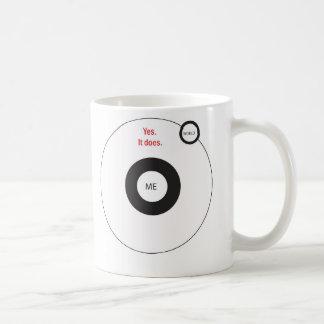 Yes The World Does Revolve Around Me Coffee Mug