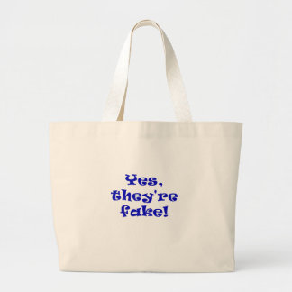 Yes They re Fake Tote Bags