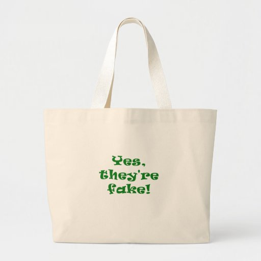 Yes They're Fake Bags