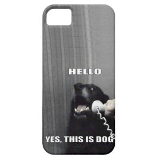 Yes this is dog iPhone 5 cover