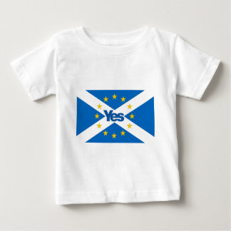 Yes to Independent European Scotland Baby T-Shirt