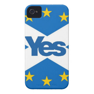 Yes to Independent European Scotland iPhone 4 Case-Mate Cases