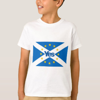 Yes to Independent European Scotland T-Shirt