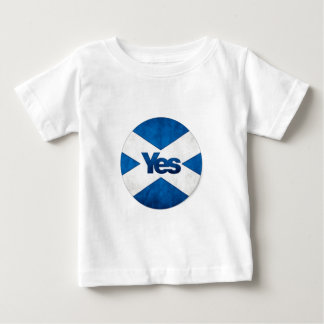 Yes to Independent Scotland 'Saor Alba Go Bragh' Baby T-Shirt