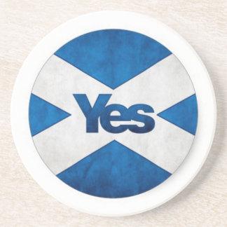 Yes to Independent Scotland 'Saor Alba Go Bragh' Coaster