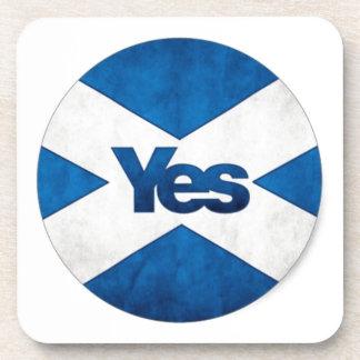 Yes to Independent Scotland 'Saor Alba Go Bragh' Drink Coaster