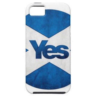 Yes to Independent Scotland 'Saor Alba Go Bragh' iPhone 5 Case