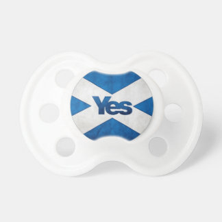 Yes to Independent Scotland 'Saor Alba Go Bragh' Pacifiers