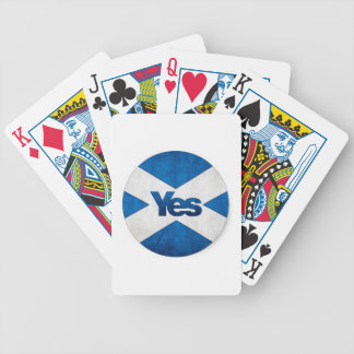 Yes to Independent Scotland 'Saor Alba Go Bragh' Poker Deck