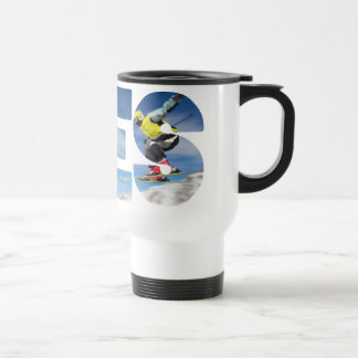 Yes ton ski jumping travel mug