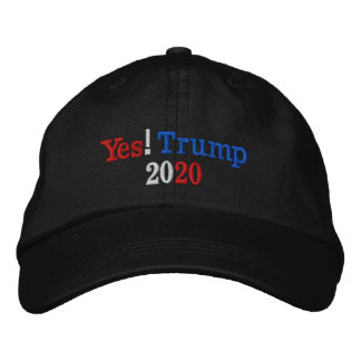 Yes! Trump 2020 Campaign Embroidered Hat