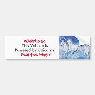 Yes, Unicorns Exist! Bumper Sticker