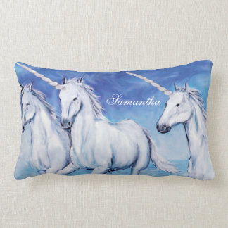 Yes, Unicorns Exist! Lumbar Pillow