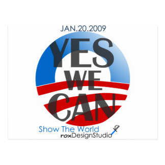 Yes We Can 2 Postcard