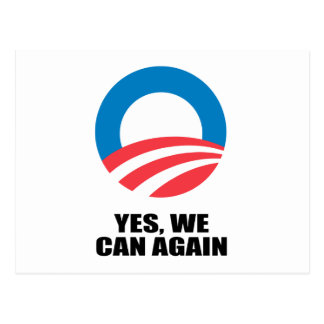 YES, WE CAN AGAIN POST CARD