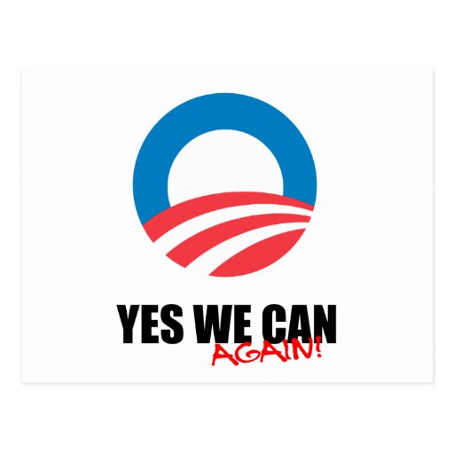 YES WE CAN AGAIN POST CARDS