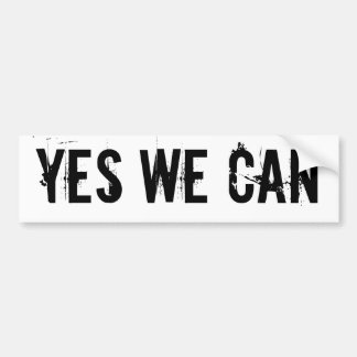 YES WE CAN - bmp sticker txt