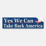 Yes We Can Bumper Stickers