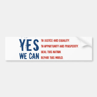 YES WE CAN flg v1 Sticker