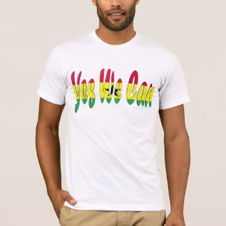 Yes We Can (Ghana Flag) T-Shirt