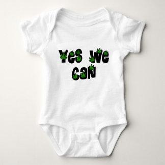 Yes We Can Legalize Weed / Marijuana Baby Bodysuit