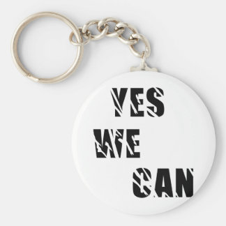 Yes We Can Obama Barack El Presidente Keychain
