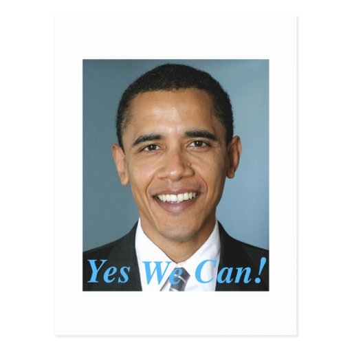 Yes We Can Postcards