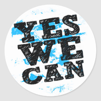Yes We Can Stickers - Barack Obama Stickers