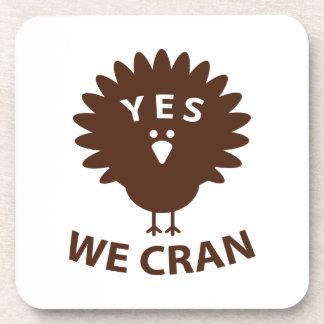 Yes We Cran Coasters