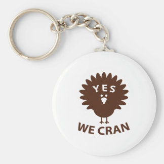 Yes We Cran Keychain