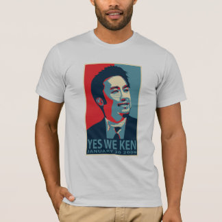 Yes We Ken (Obama) - Customized T-Shirt